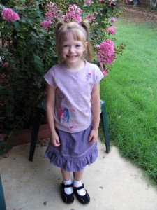 First Day of Kindergarte
